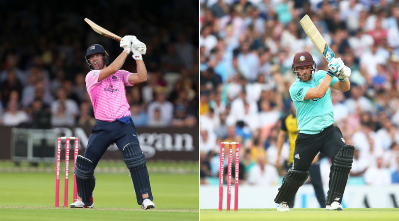 MID vs SUR Dream11 Team Prediction: Middlesex vs Surrey Vitality Blast Dream 11 Team Picks And Probable Playing 11