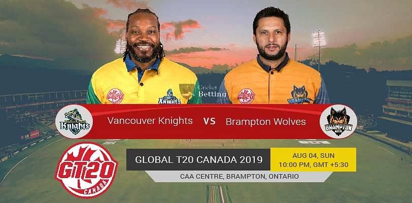 VK Vs BRW Dream11 Team Prediction : Vancouver Wolves vs Brampton Wolves Dream 11 Team Picks And Probable Playing 11