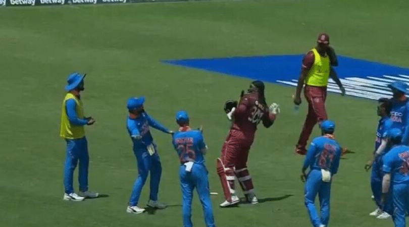 Chris Gayle retirement: Watch Virat Kohli hugs Chris Gayle after Universe Boss' last ODI innings