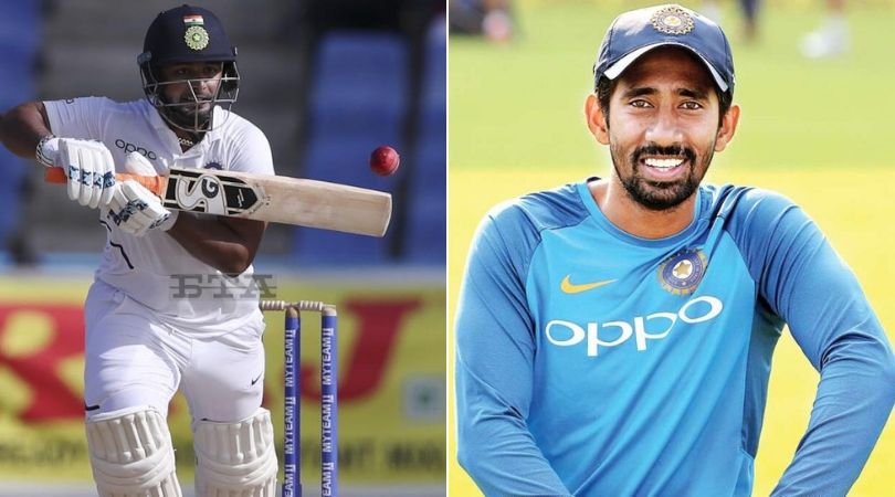 Rishabh Pant vs Wriddhiman Saha: Former Indian wicket-keeper wants this player to play vs West Indies in Jamaica Test