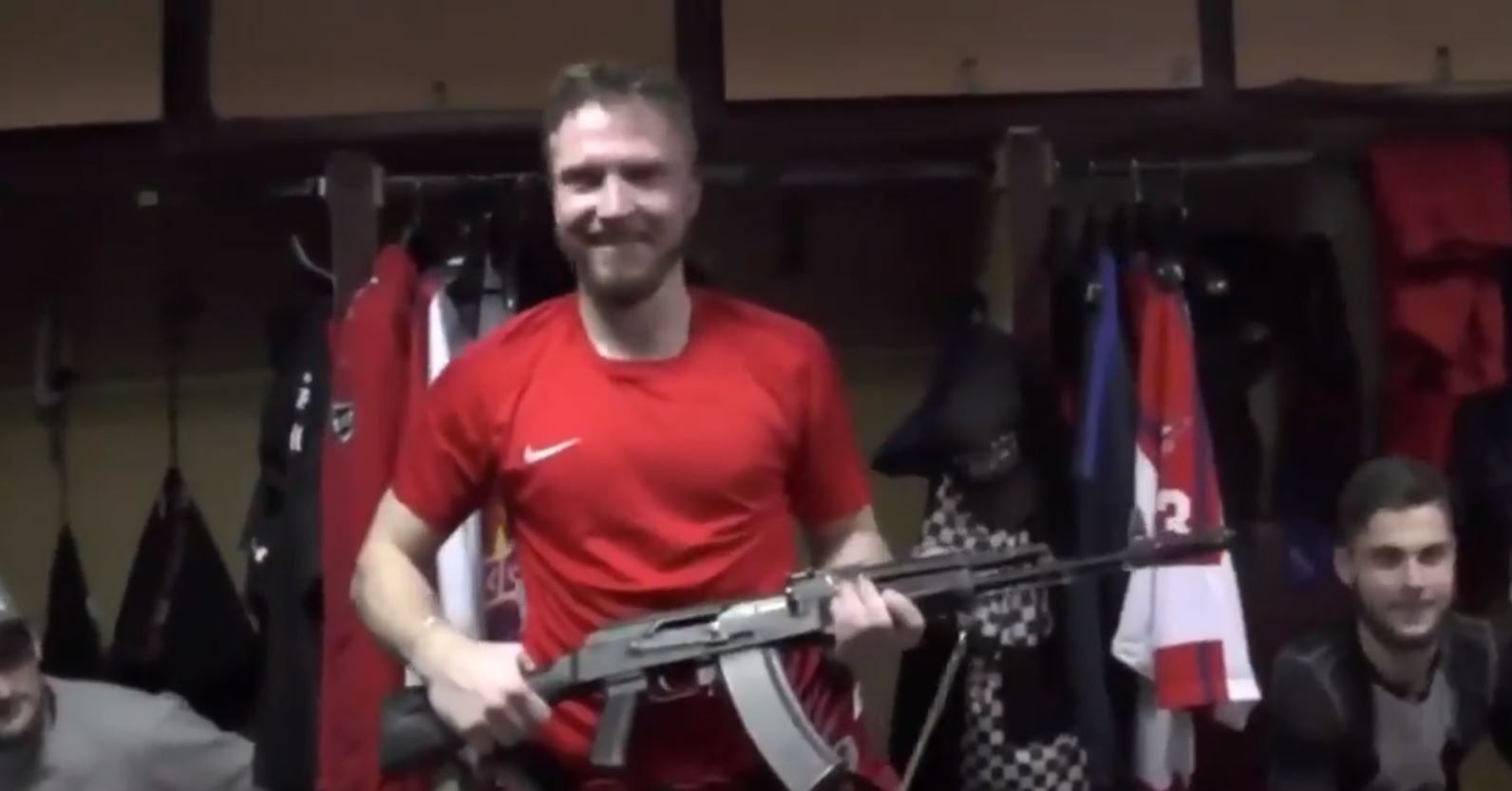 AK-47 awarded to Player of the Game in the Russian Hockey League