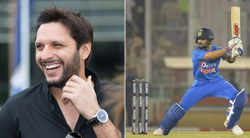 Shahid Afridi Twitter: Former Pakistani captain heaps praise on Virat Kohli; wants him to keep entertaining fans