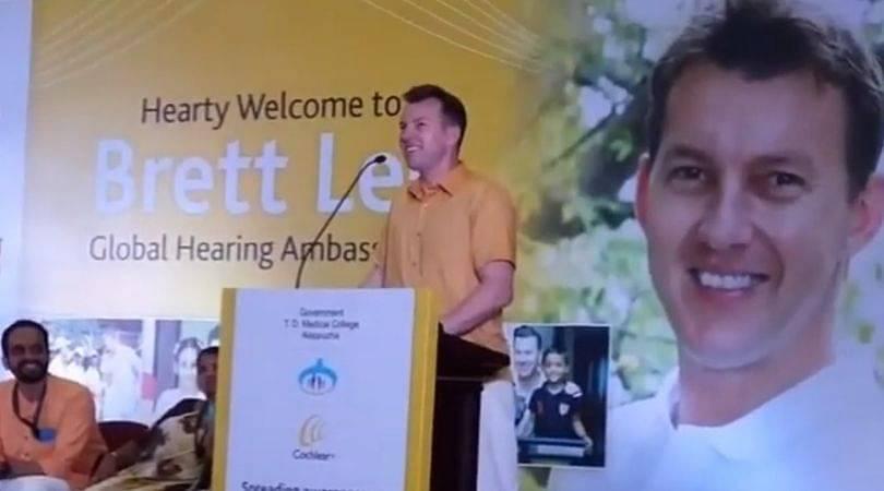 WATCH: Brett Lee chants 'Sachin Sachin' during an event in Kerala