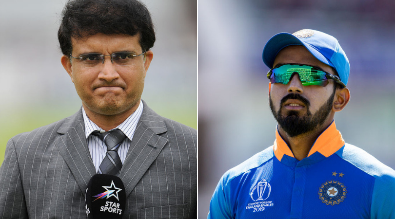Sourav Ganguly identifies KL Rahul's replacement in test matches