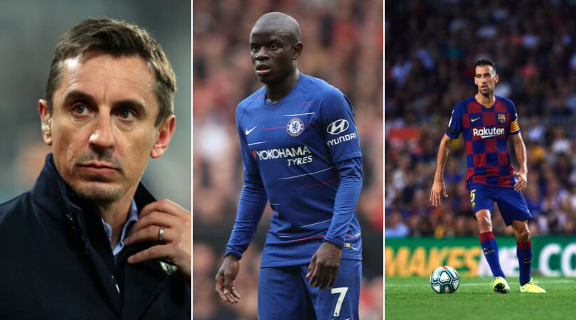 Liverpool news: Gary Neville names world's best defensive midfielder, ignores N'Golo Kante and Sergio Busquets