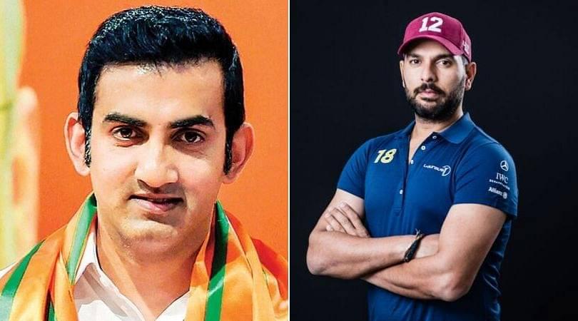 Gautam Gambhir wants BCCI to retire Yuvraj Singh's Jersey No. 12