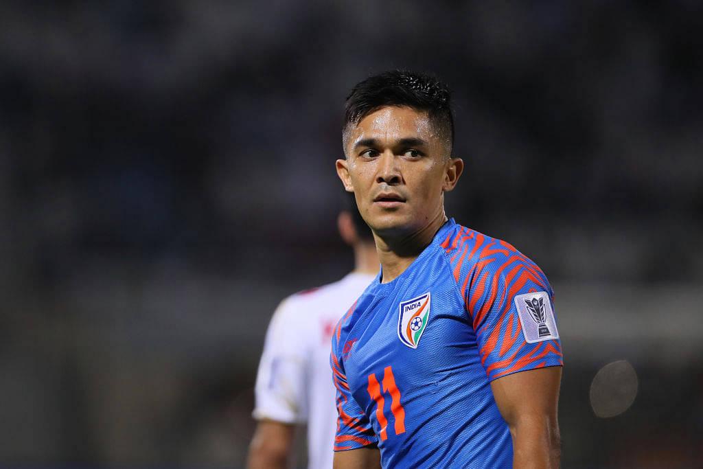 Sunil Chhetri: 'I was crying' as Skipper reflects on India's draw against Qatar