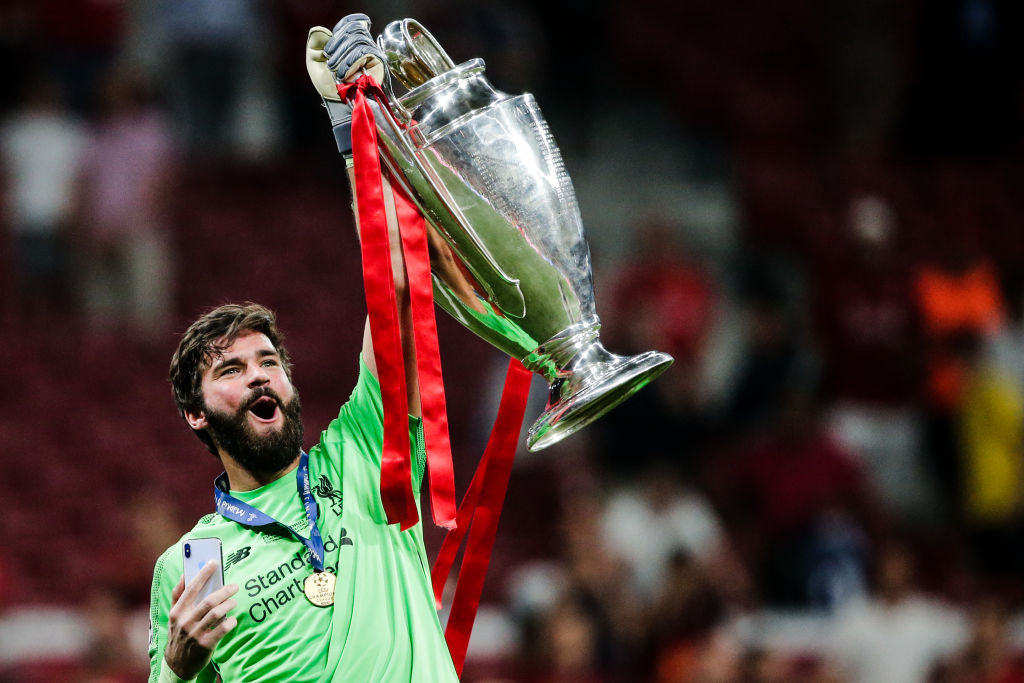 Alisson Becker: Liverpool shot-stopper discusses his chance of winning the Ballon d'Or