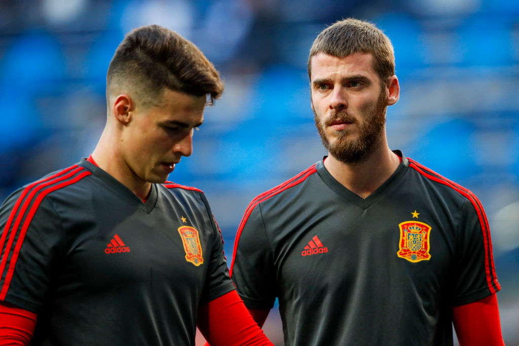 Kepa makes a phenomenal save for Spain vs Romania to justify his selection ahead of David De Gea