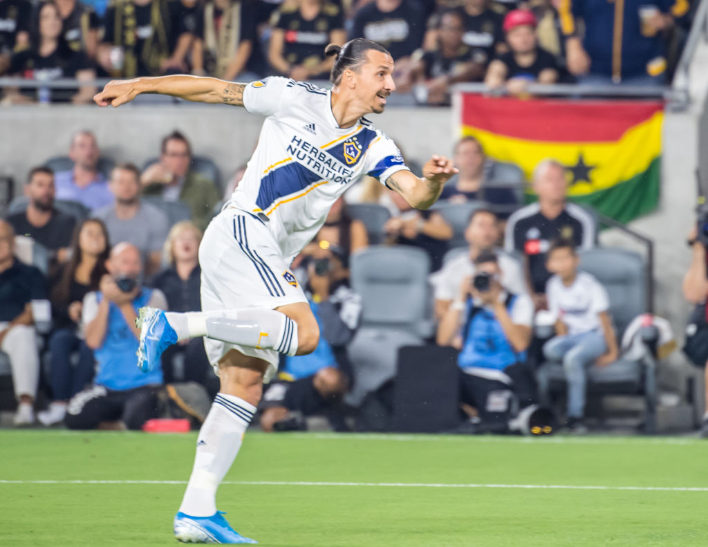Zlatan Ibrahimovic is the only player from a non-European club to feature in the top 100 FIFA 20 ratings