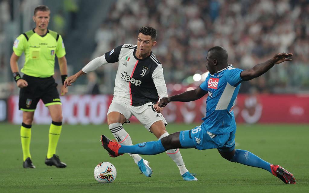 Cristiano Ronaldo clocks 33,12 Km/h speed running 92 meters in 10 seconds vs Napoli
