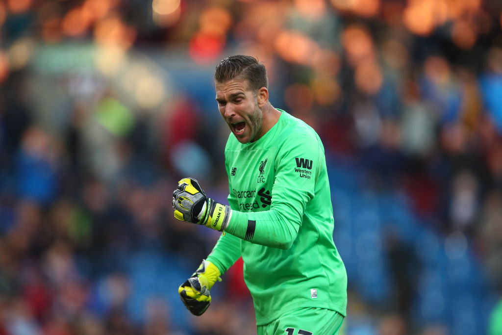 Adrian pulls spectacular one-hand save to deny Napoli's Dries Mertens a goal