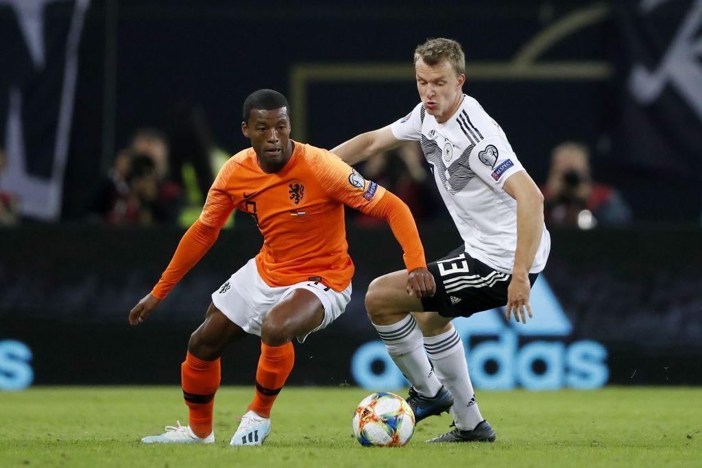 Wijnaldum's highlights from Netherlands decimation of Germany shows how vital he is to Liverpool's PL title hopes