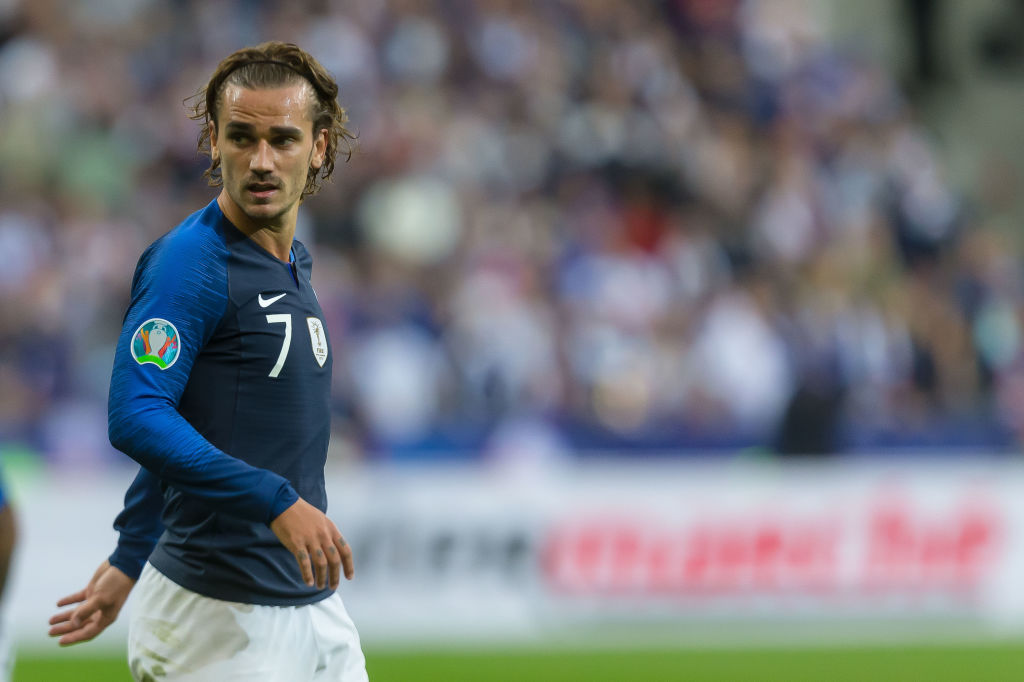 Antoine Griezmann blames wife for the missed penalty for France vs Albania