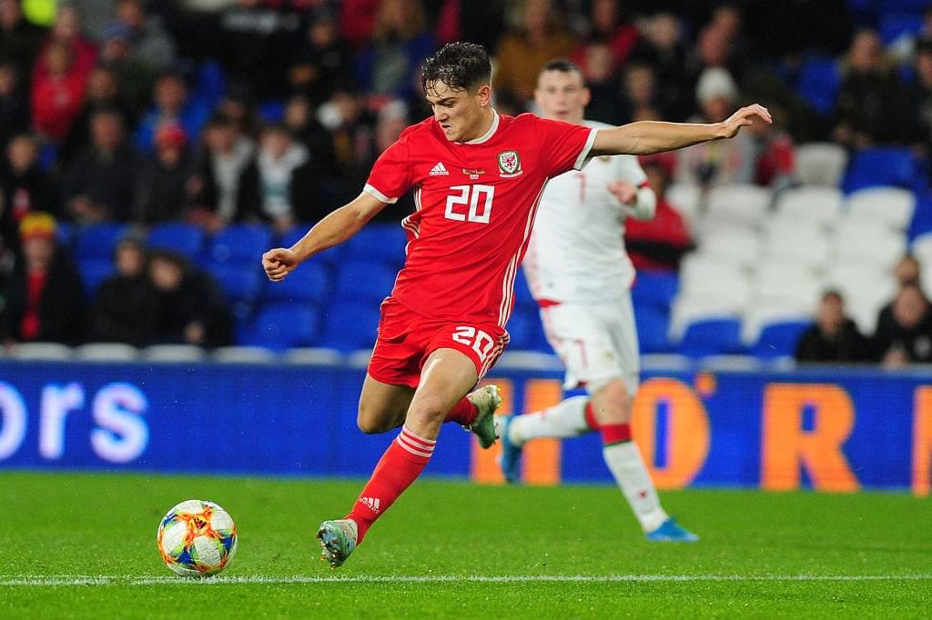 Daniel James scores a sensational goal for Wales vs Belarus