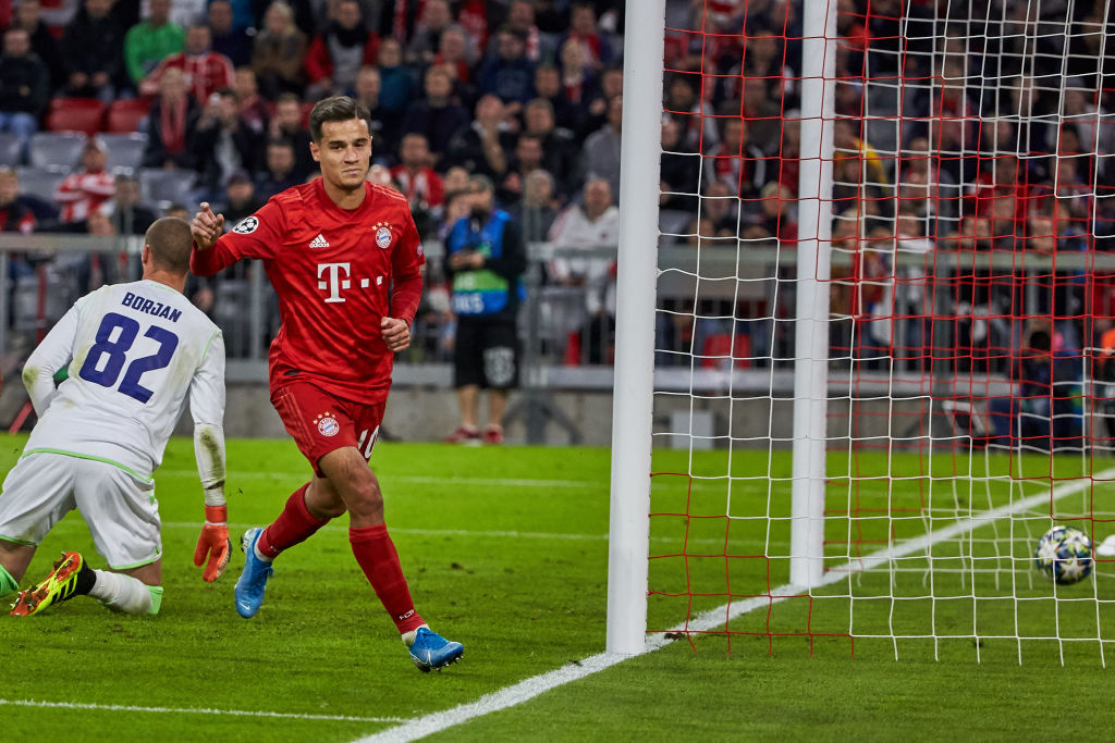 Philippe Coutinho stars for Bayern Munich with an assist and his first goal in the Bundesliga