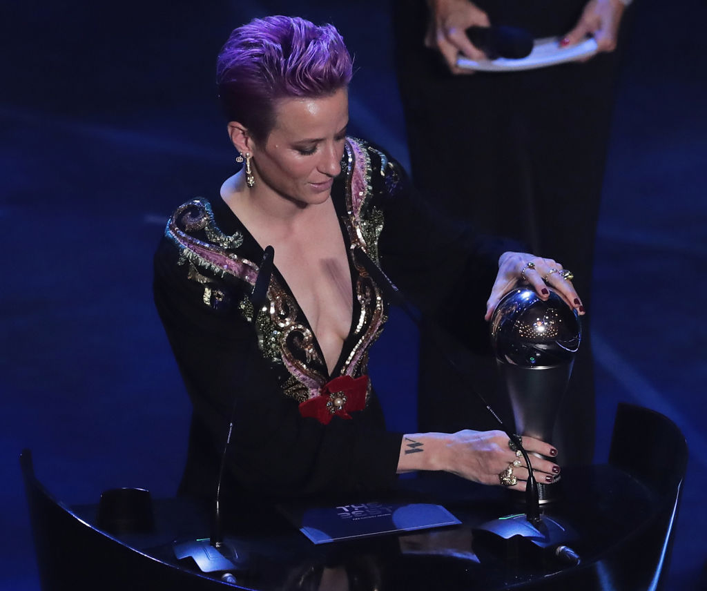 Megan Rapinoe delivers powerful speech after winning the Best FIFA Women's player of the year award