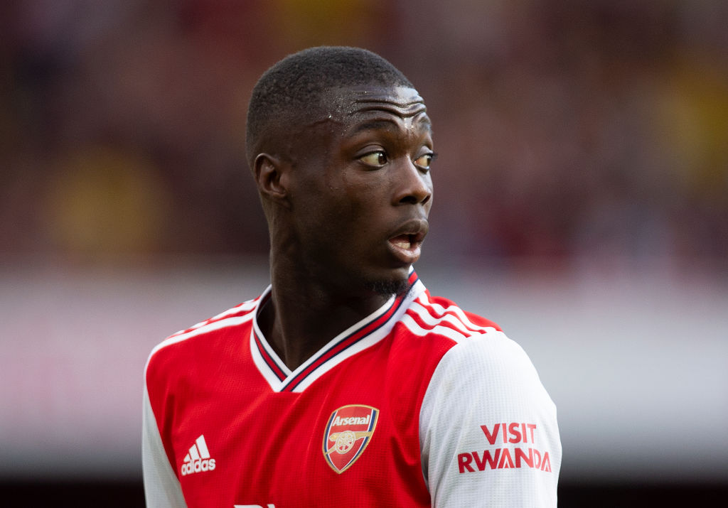 Arsenal News: Nicolas Pepe reports to club duty after suffering an injury