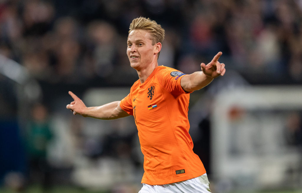 Frenkie De Jong's highlights in 4-2 win against Germany shows his unreal talent