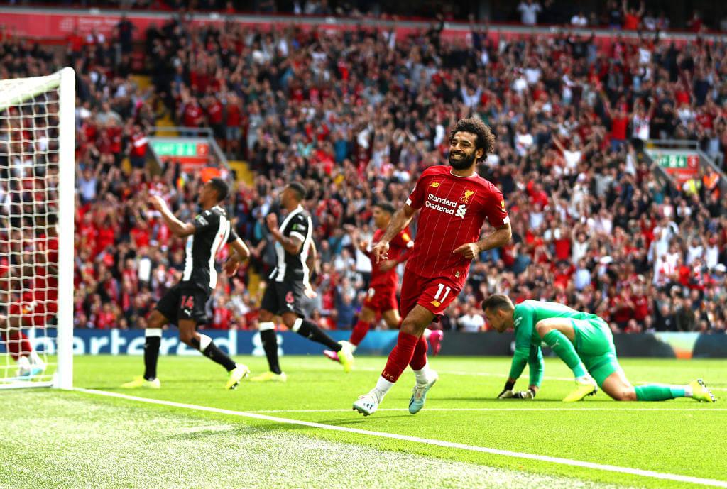 Watch Roberto Firmino's graceful backheel pass assist to Mohamed Salah's spectacular goal
