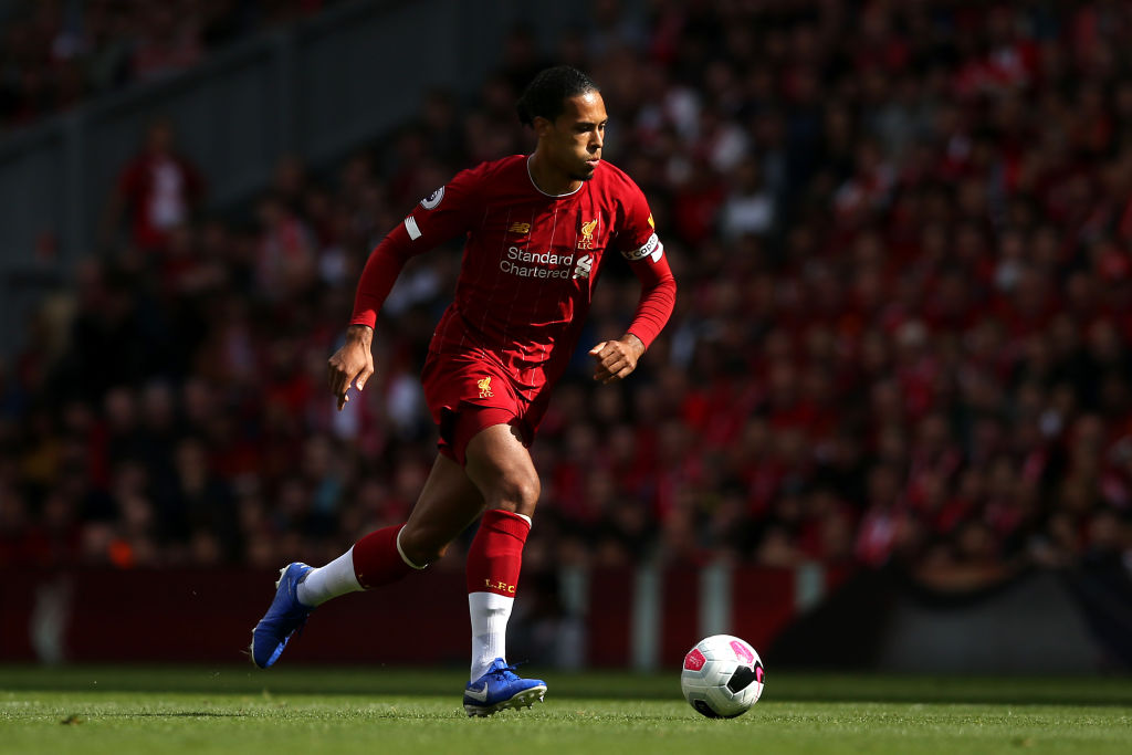 Watch: Virgil Van Dijk celebrates well before Mohammed Salah scores against Newcastle