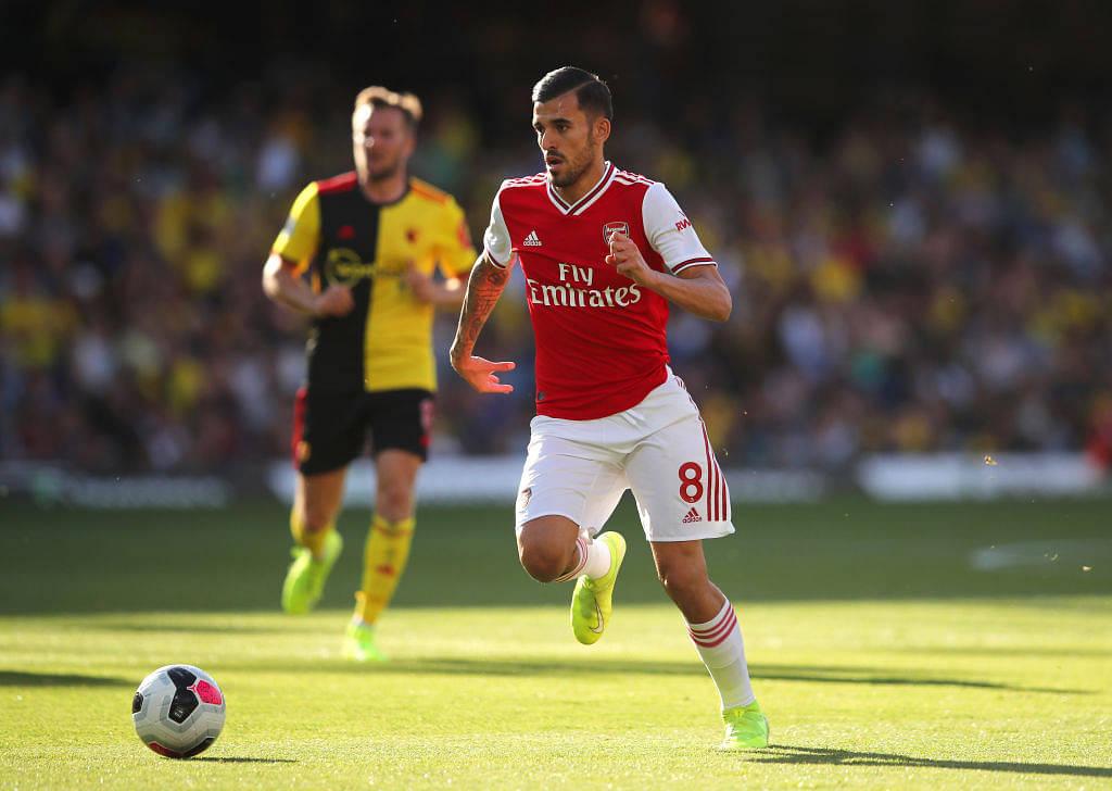 Dani Ceballos' celebration of Aubameyang's goal against Watford proves how much he loves Arsenal