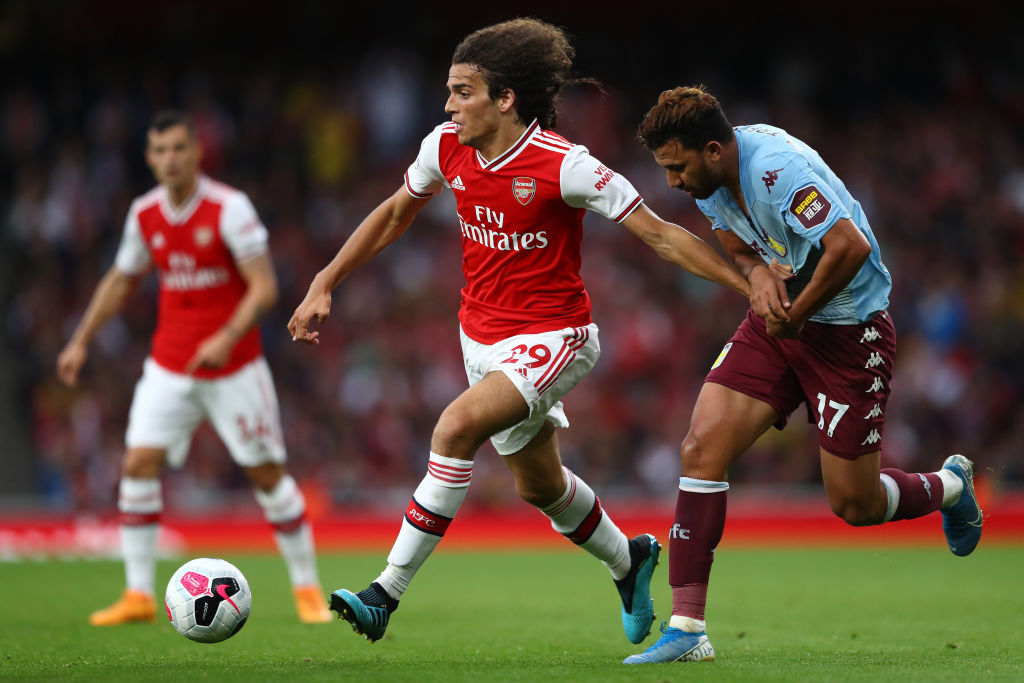 "Matteo Guendouzi apparently bickered with John Terry and gestured ""I'm in your head"""