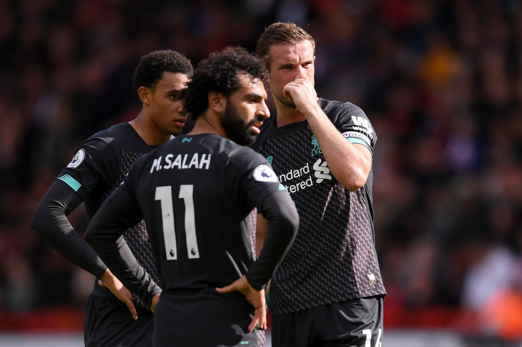 Premier League News: Liverpool fails to produce a shot on target in first half of any Premier League game this season