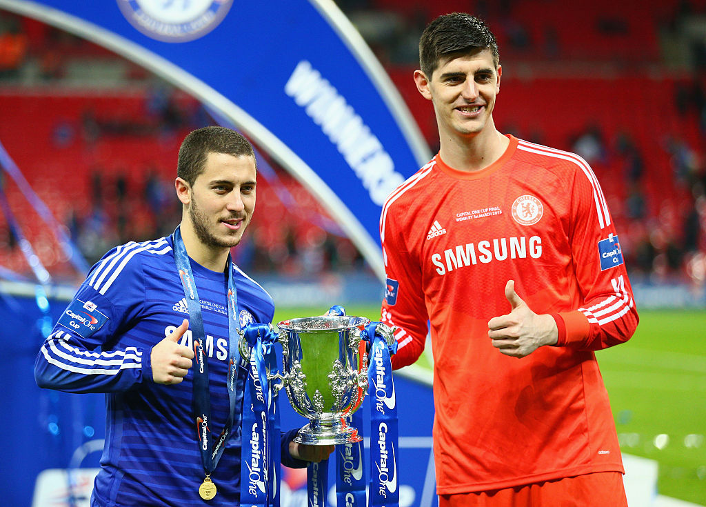 Chelsea News : Eden Hazard and Thibaut Courtois desperately wants reunion with Chelsea star at Real Madrid