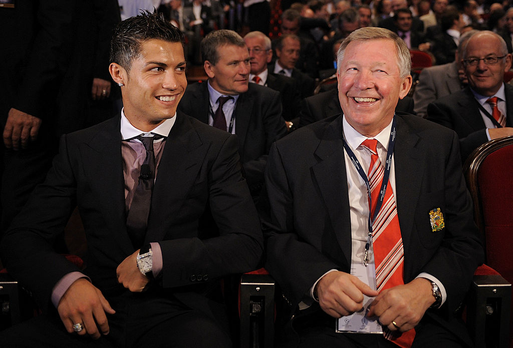 Sir Alex Ferguson sends a beautiful video message to Cristiano Ronaldo
