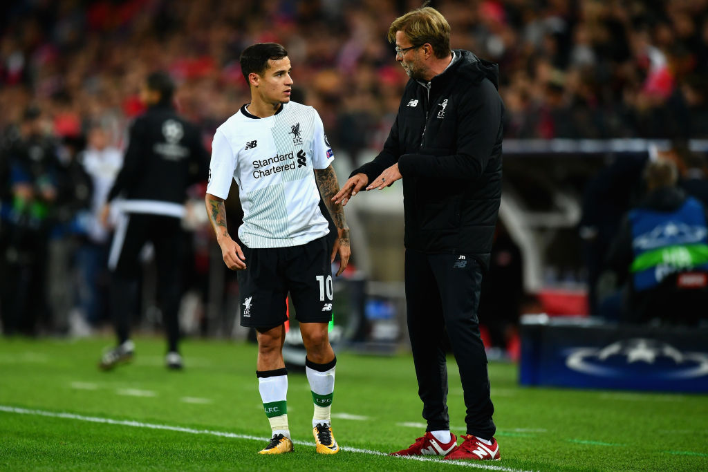 Liverpool News: Philippe Coutinho reveals the text Jurgen Klopp sent him before Bayern move
