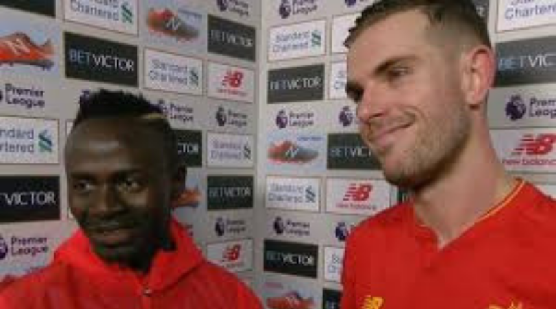 Sadio Mane: Liverpool Captain Jorden Henderson reveals the Star's behaviour in the dressing room after Burnley outburst