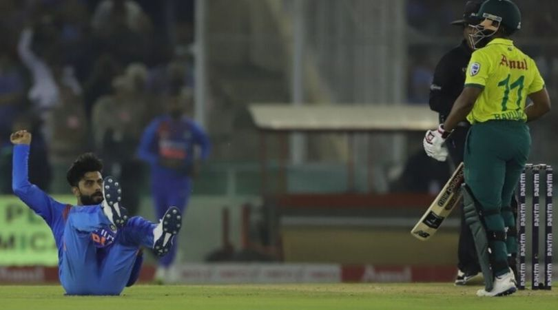 Ravindra Jadeja caught and bowled van der Dussen: Watch Indian all-rounder's extraordinary fielding display in Mohali T20I