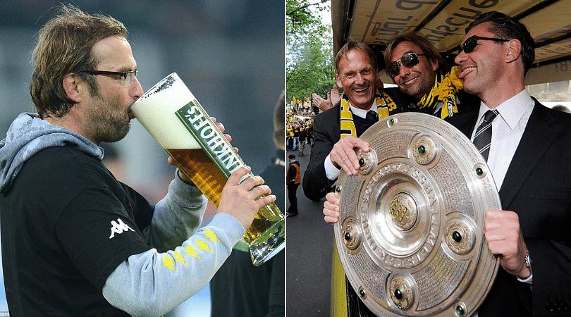 Jurgen Klopp reveals he woke up in a truck after Borussia Dortmund's Bundesliga triumph