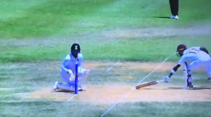 Virat Kohli run-out vs West Indies: Watch Indian captain's pinpoint throw finds Shamarh Brooks short of his crease