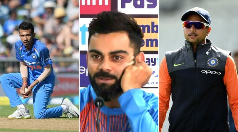 WATCH: Virat Kohli discloses why Yuzvendra Chahal and Kuldeep Yadav have been dropped from T20I squad