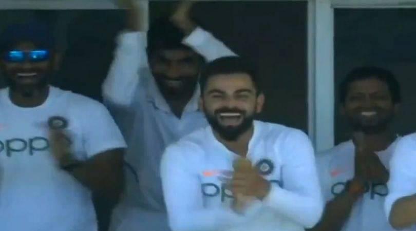 WATCH: Virat Kohli wholeheartedly celebrates Ishant Sharma's maiden Test half-century in Antigua