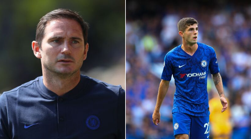 Chelsea News: Christian Pulisic reveals what Frank Lampard told him to get into the starting line up