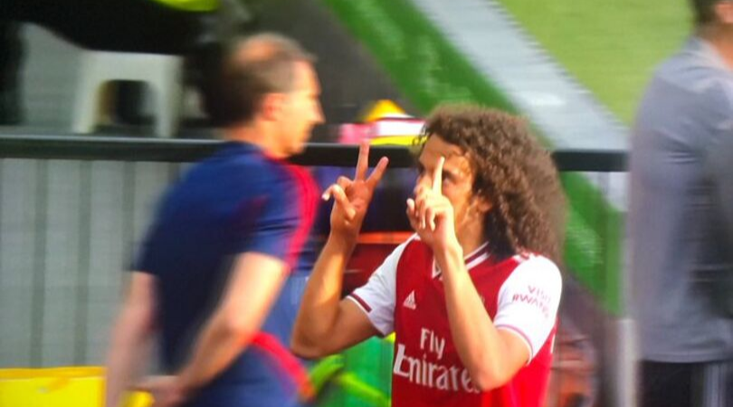 Matteo Guendouzi taunts Watford fans only to have it come back to haunt him