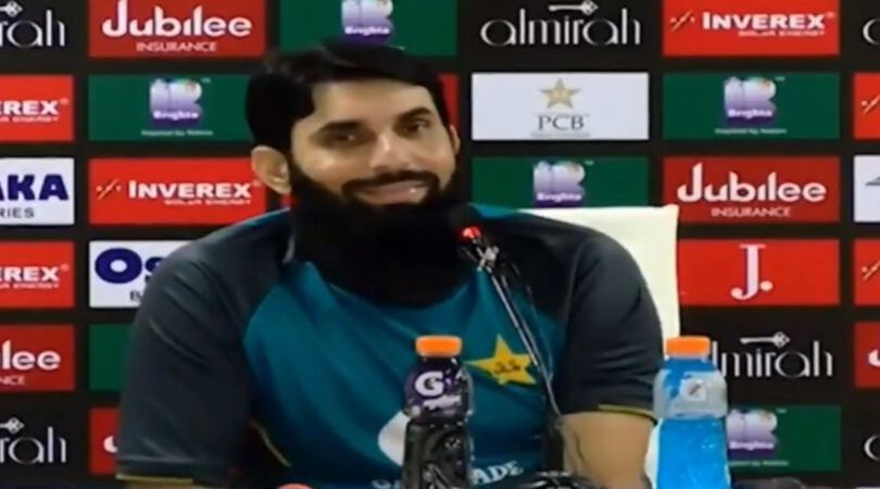 WATCH: Misbah-ul-Haq slams reporter who asks about Kashmir issue ahead of PAK vs SL ODI series
