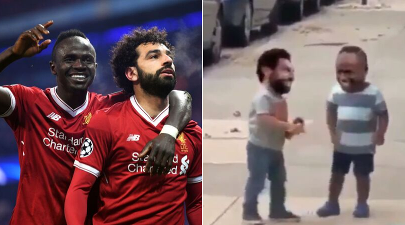 Liverpool News: Mohamed Salah pours cold water on spat between him and Sadio Mane with a comedy gold video