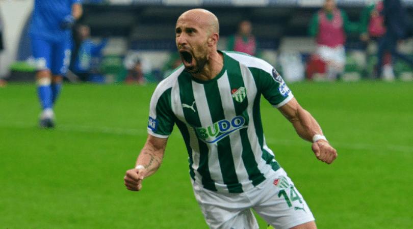 Bursaspor's Iasmin Latovlevici scored a Puskas award worthy goal last night