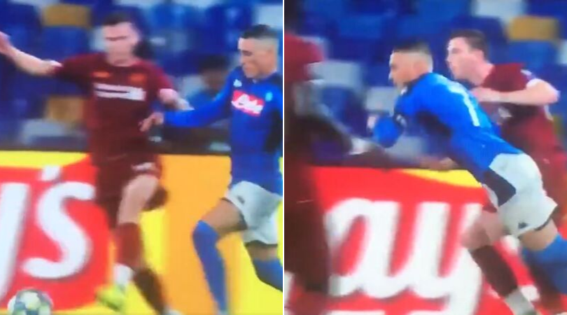 Liverpool News: Referee reviews Jose Callejon dive and awards penalty to Napoli