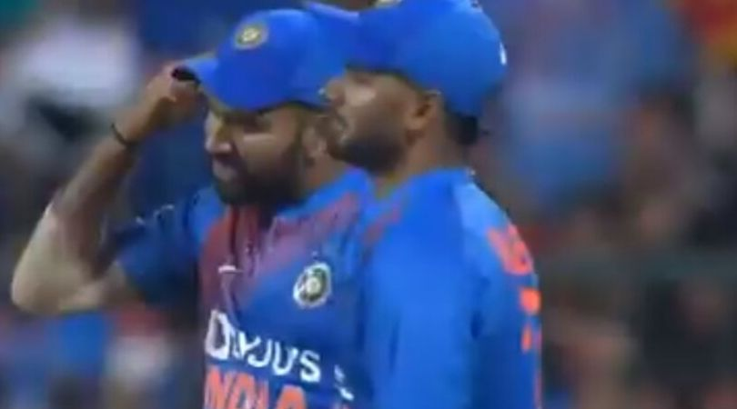 WATCH: Rohit Sharma scolds Navdeep Saini; asks him to use his brain during India vs South Africa 3rd T20I