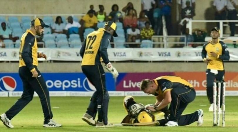 Andre Russell head injury: Watch Jamaican all-rounder gets hit by vicious Hardus Viljoen bouncer