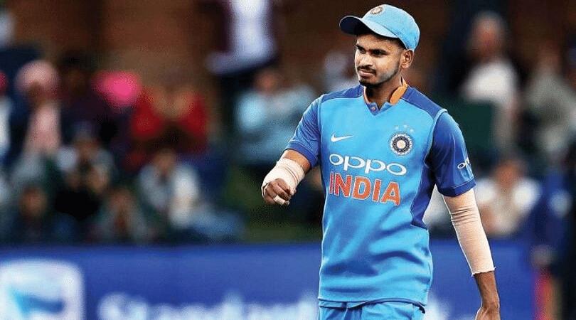 Shreyas Iyer's responds hilariously to a comment regarding Team India's sponsor