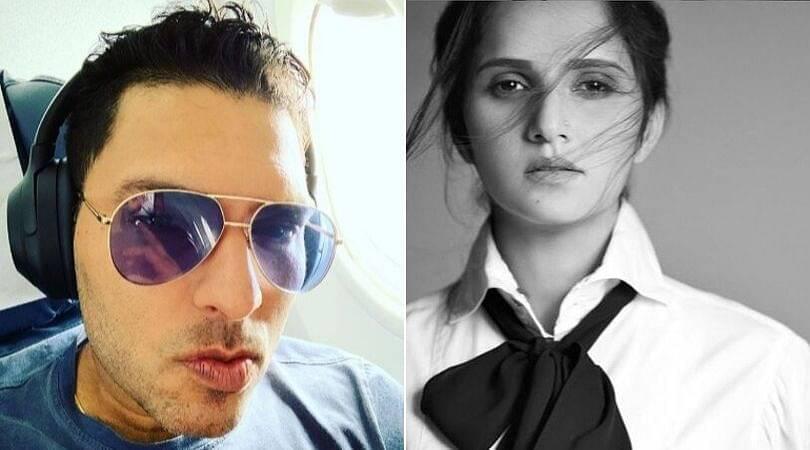 Sania Mirza trolls Yuvraj Singh on Instagram regarding his new look