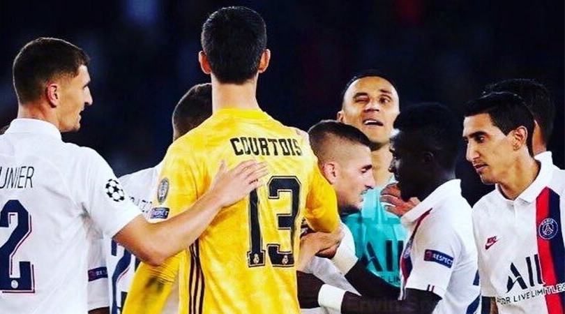 Real Madrid News: Keylor Navas' cheeky wink at Thibaut Courtois after PSG's win goes viral