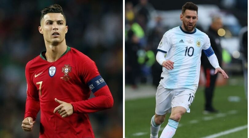 Lionel Messi averages more goals and assists than Cristiano Ronaldo in International football