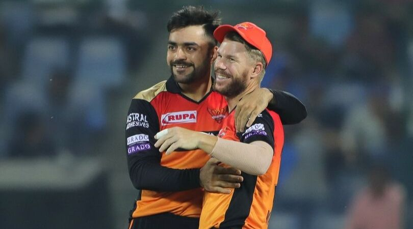 David Warner Takes A Hilarious Jibe At Rashid Khan's Age